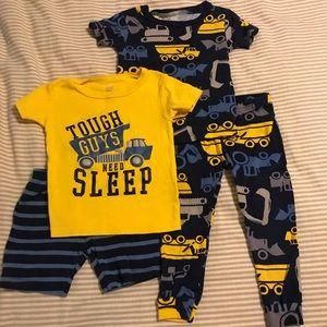 Carter's 18 Month Boys 4 Piece Pajama Set